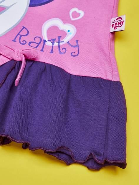 Różowa tunika dla dziewczynki MY LITTLE PONY                                  zdj.                                  3