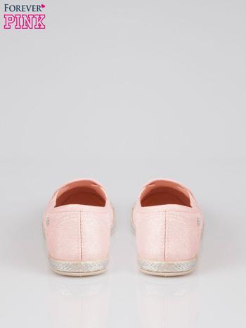 Różowe buty slip-on                                  zdj.                                  3