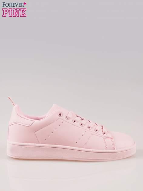 Różowe buty sportowe damskie
