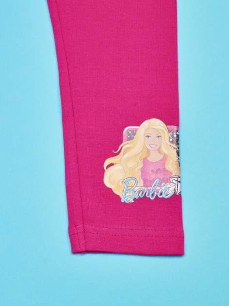Różowe legginsy dla dziewczynki BARBIE                                  zdj.                                  4