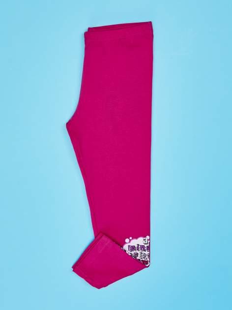 Różowe legginsy dla dziewczynki FURBY                                  zdj.                                  3