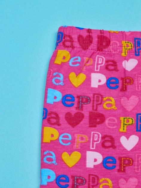 Różowe legginsy dla dziewczynki ŚWINKA PEPPA                                  zdj.                                  3