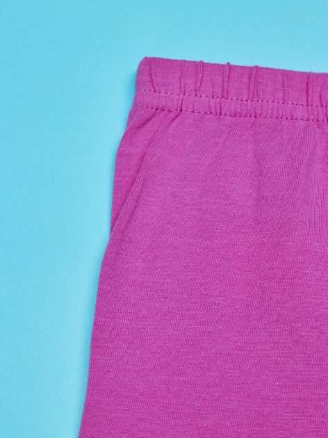 Różowe legginsy dla dziewczynki motyw MY LITTLE PONY                                   zdj.                                  5