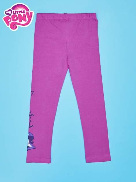Różowe legginsy dla dziewczynki motyw MY LITTLE PONY                                   zdj.                                  2