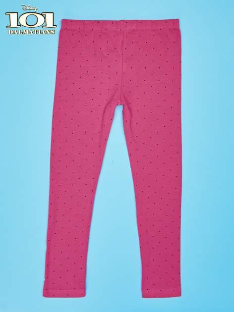Różowe legginsy w kropki dla dziewczynki 101 DALMATYŃCZYKÓW                                  zdj.                                  2