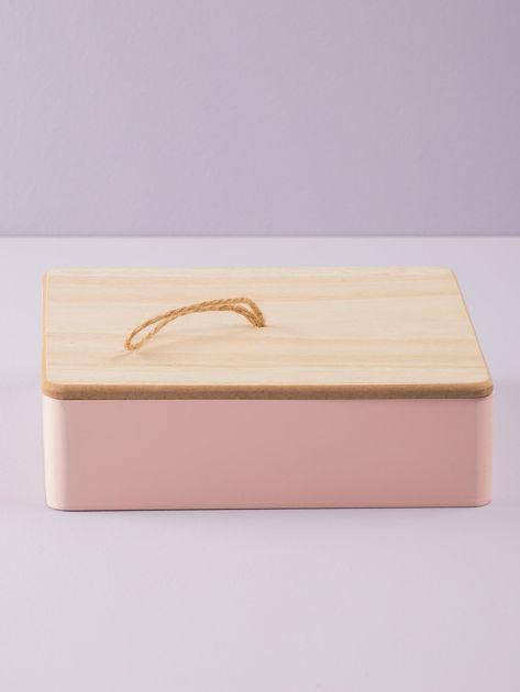 Różowe pudełko z lusterkiem                              zdj.                              3