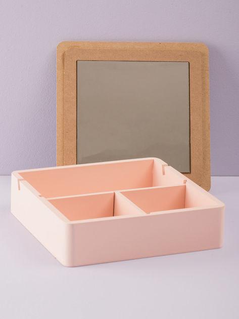 Różowe pudełko z lusterkiem                              zdj.                              5