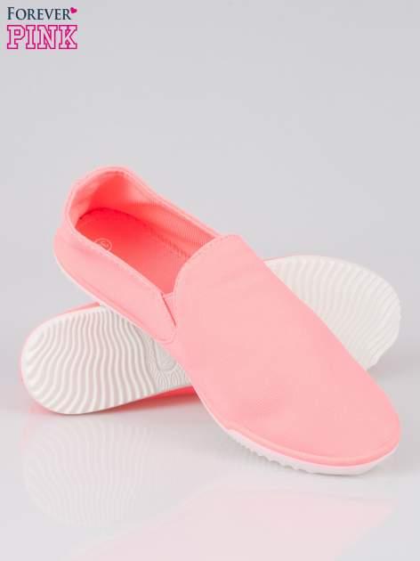 Różowe sliponki na elastycznej podeszwie                                  zdj.                                  4
