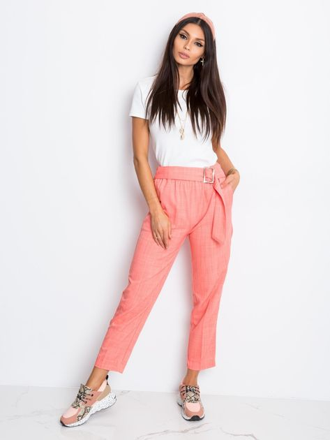 Różowe spodnie Honey                              zdj.                              4