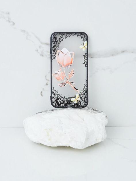 Różowo-czarne etui do iPhone 6