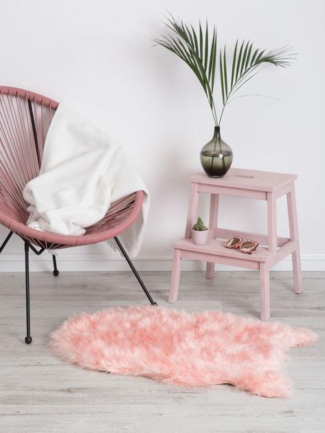 Różowy dywanik shaggy                              zdj.                              1