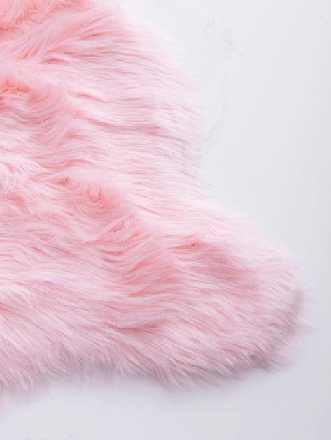 Różowy dywanik shaggy                              zdj.                              5