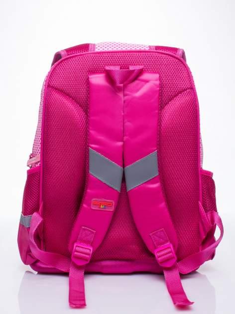 Różowy plecak dla dziewczynki DISNEY z księżniczkami                                  zdj.                                  4