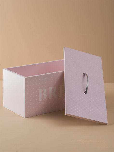 Różowy pojemnik na chleb                              zdj.                              4