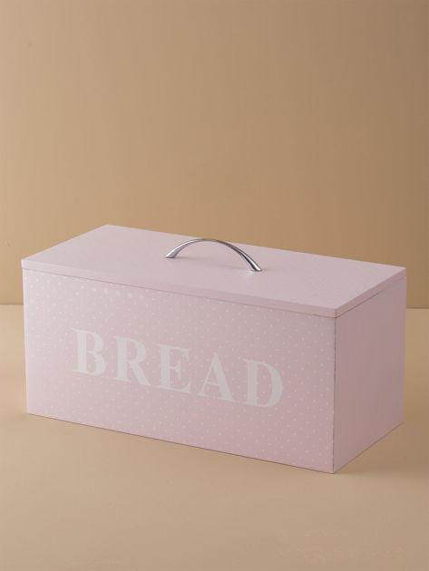 Różowy pojemnik na chleb                              zdj.                              2