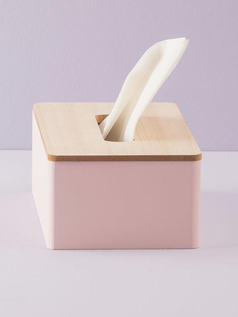 Różowy pojemnik na chusteczki                               zdj.                              6