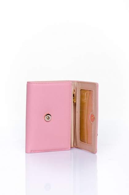 Różowy portfel z kokardką                                  zdj.                                  4