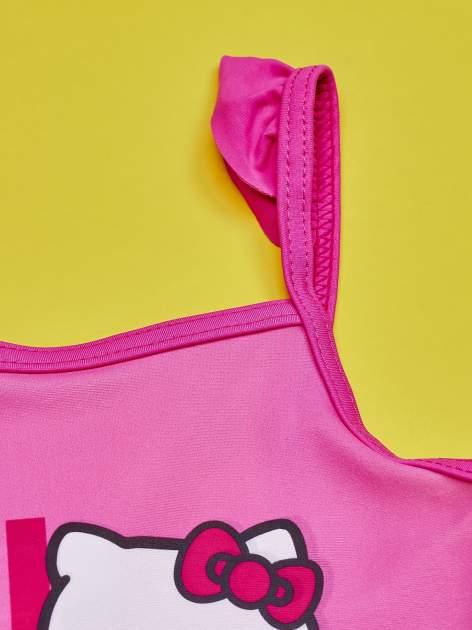 Różowy strój kąpielowy dla dziewczynki HELLO KITTY                                  zdj.                                  3