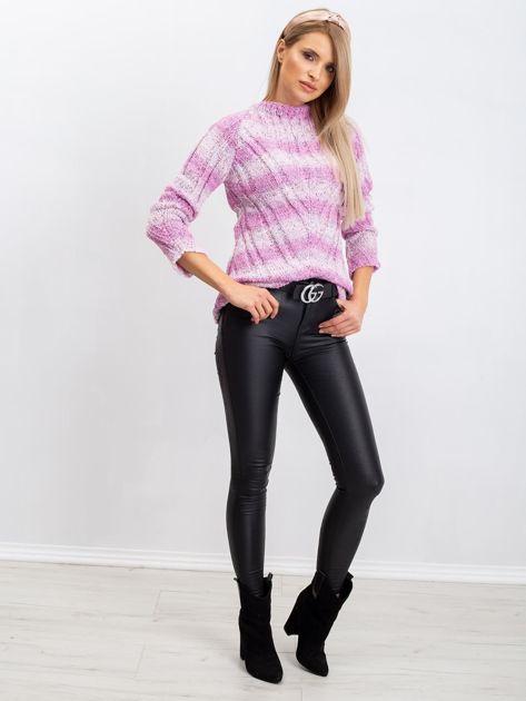 Różowy sweter Madison                              zdj.                              4