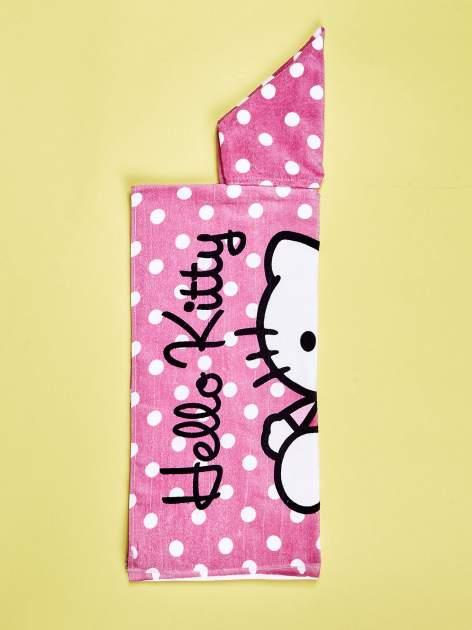 Różowy szlafrok dla dziewczynki HELLO KITTY                                  zdj.                                  3