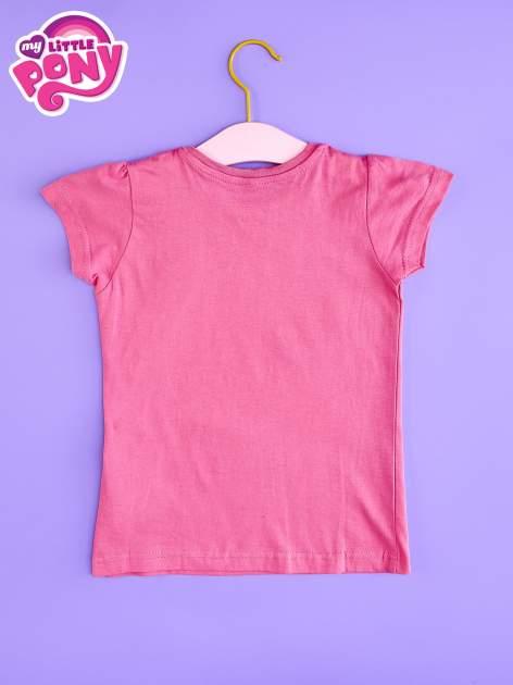 Różowy t-shirt dla dziewczynki nadruk MY LITTLE PONY                                  zdj.                                  2