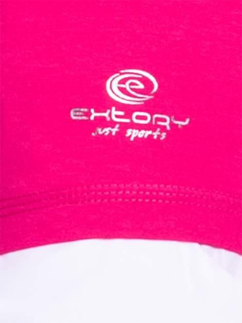 Różowy top sportowy z siateczką z tyłu                                  zdj.                                  5