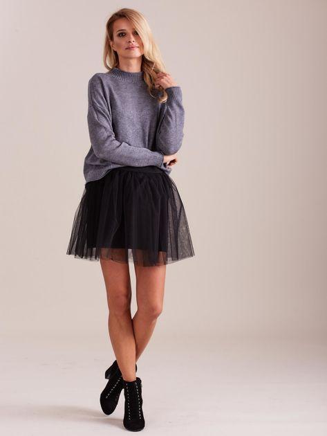 Szary sweter damski                              zdj.                              1