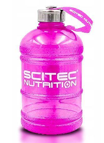 SCITEC Shaker Mega Bottle 1 litr pojemności różowy