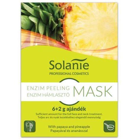 SOLANIE Profesjonalna alginatowa maska - peeling enzymatyczny (6+2g)                              zdj.                              1
