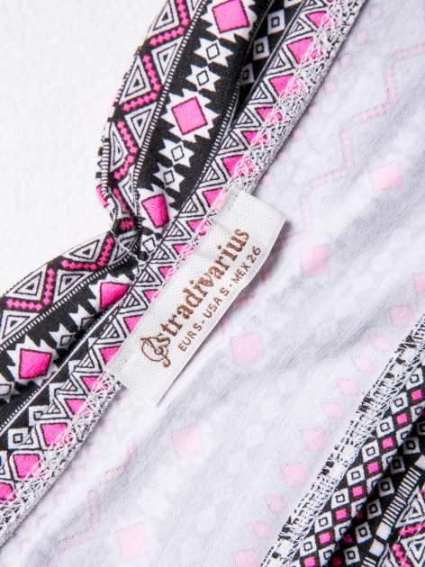 STRADIVARIUS Różowy bralet w azteckie wzory                                  zdj.                                  3