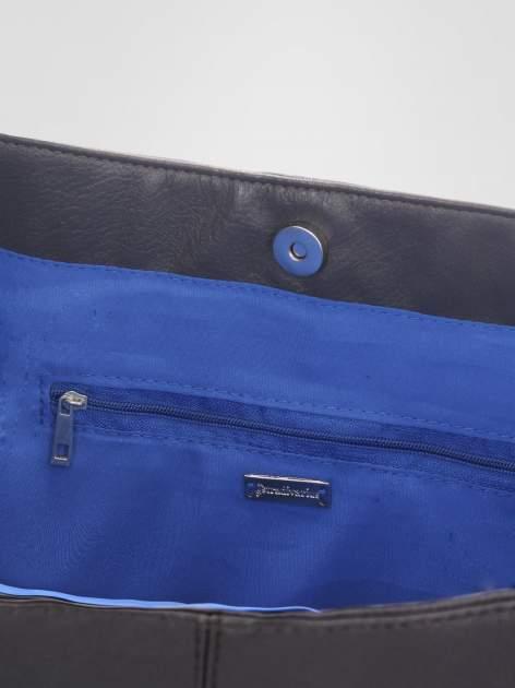 STRADIVARIUS Szara torba shopper bag                                  zdj.                                  3