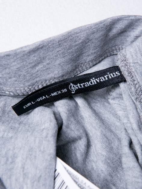 STRADIVARIUS Szare legginsy basic                                  zdj.                                  3