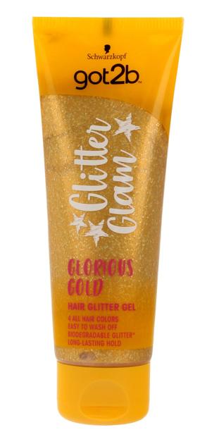 """Schwarzkopf Got 2b Glitter Glam Żel do włosów z brokatem Glorious Gold  50ml"""""""
