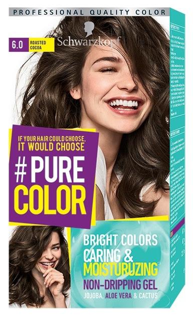 """Schwarzkopf Pure Color Farba do włosów w żelu nr 6.0 Roasted Cocoa  1op."""""""