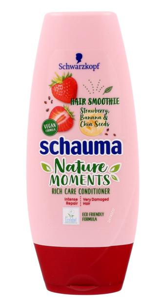 """Schwarzkopf Schauma Nature Moments Odżywka do włosów bardzo zniszczonych-Truskawka&Chia 200ml"""""""