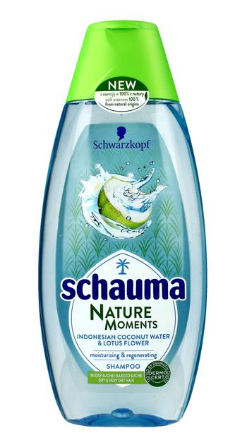 """Schwarzkopf Schauma Nature Moments Szampon do włosów suchych-Woda kokosowa&Lotos 200ml"""""""