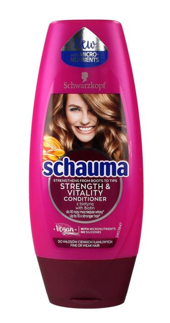 """Schwarzkopf Schauma Odżywka do włosów Strenght & Vitality 200ml"""""""