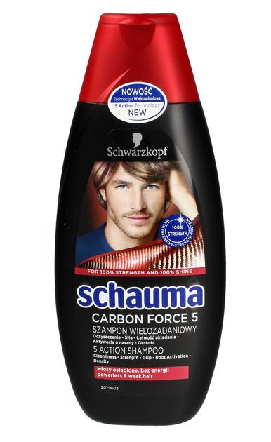 """Schwarzkopf Schauma Szampon do włosów Carbon Force 5   400ml"""""""