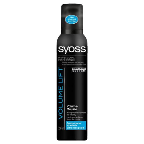 """Schwarzkopf Syoss Volume Lift Pianka do włosów extra mocna zwiększająca objętość  250ml"""""""