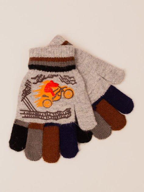 Sportowe Chłopięce Rękawiczki Zimowe 14cm (3-6 LAT)                              zdj.                              1