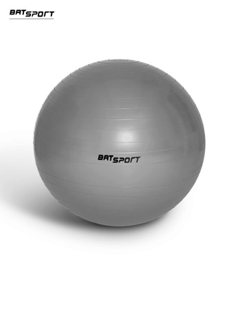 Srebrna średnia piłka fitness