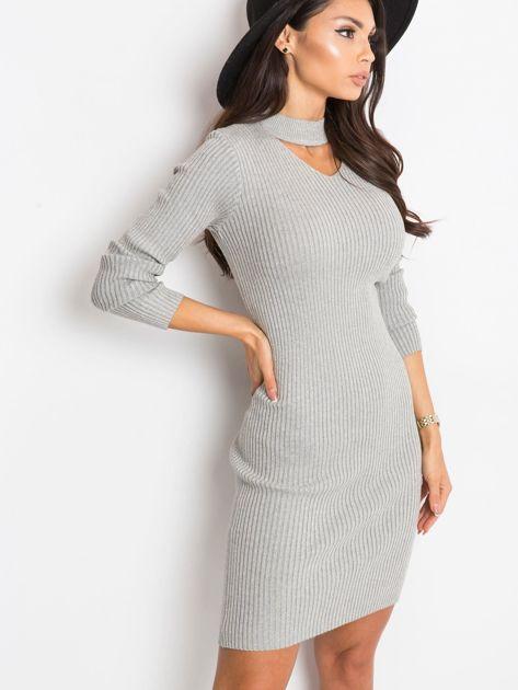 Srebrna sukienka Blink                              zdj.                              3