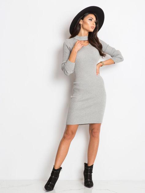 Srebrna sukienka Blink                              zdj.                              4