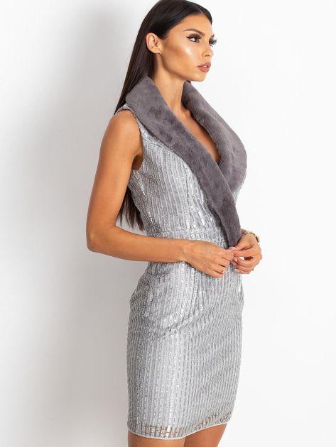 Srebrna sukienka Boost                              zdj.                              7