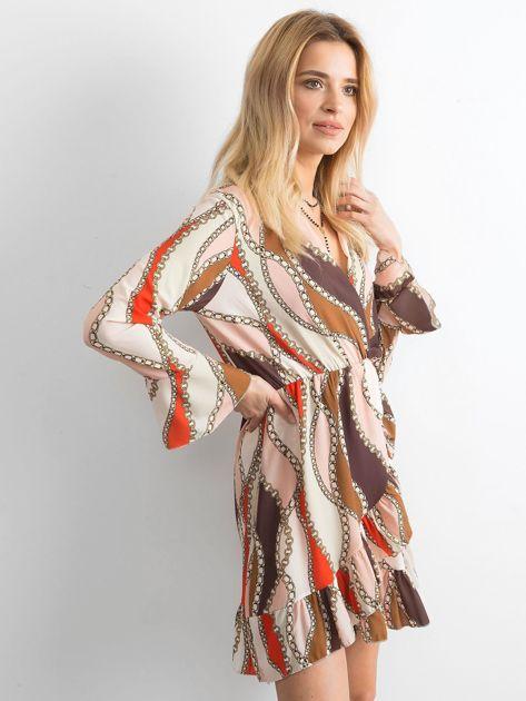 Sukienka we wzory                               zdj.                              3
