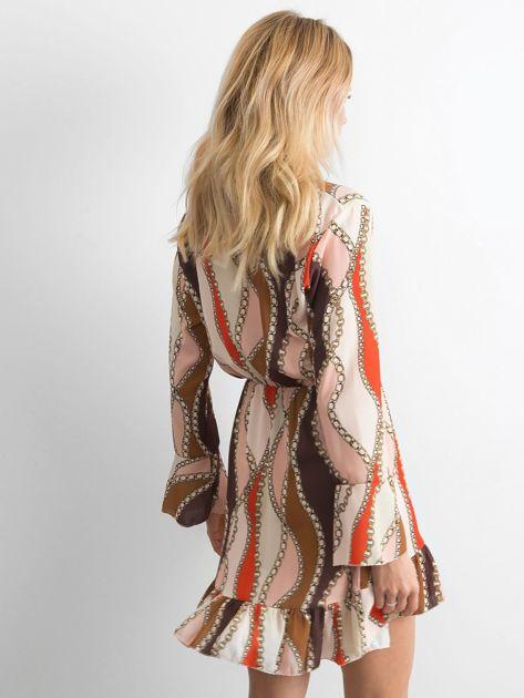 Sukienka we wzory                               zdj.                              2