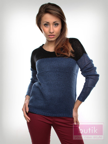 Sweter w paski                                  zdj.                                  5