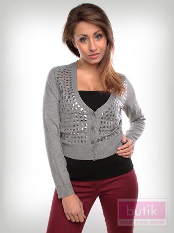 Sweter z dżetami                                  zdj.                                  1