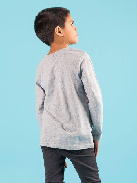 Szara bluzka dziecięca z nadrukiem PSI PATROL                              zdj.                              3