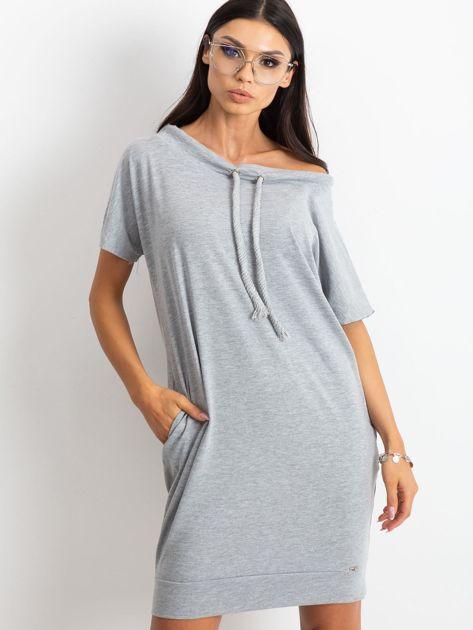 Szara sukienka Distinctiveness                              zdj.                              1